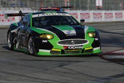 #75 Jaguar RSR Jaguar XKRS: Paul Gentilozzi, Ryan Dalziel