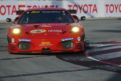 #62 Risi Competizione Ferrari 430 GT: Jaime Melo, Gianmaria Bruni