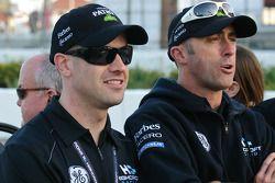 Marino Franchitti et David Brabham