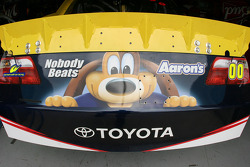 Rear valance of David Reutimann's #00 Toyota