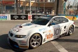 #90 BMW Rahal Letterman Racing Team BMW M3 GT: Dirk Muller, Joey Hand