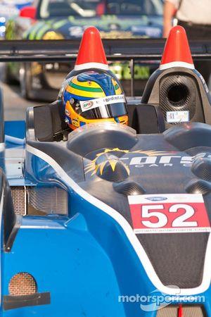 #52 PR1 Mathiasen Motorsports Oreca FLM09: Johnny Mowlem, Tom Papadopoulos