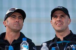 David Brabham et Marino Franchitti