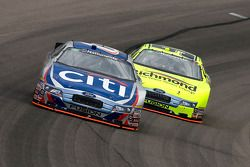 Ricky Stenhouse Jr. leads Paul Menard
