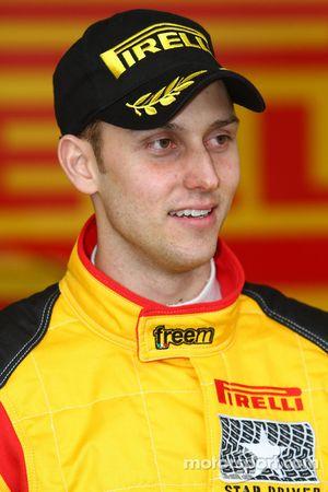 Nicholai Georgiou Joseph Matar, Mitsubishi Lancer Evo X, Pilote star Pirelli