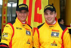 Hayden Paddon et John Kennard, Mitsubishi Lancer Evo X, Pilote star Pirelli