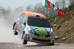 Kevin Abbring et Erwin Mombaerts, Renault Clio RS