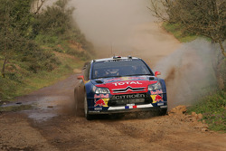Sébastien Loeb and Daniel Elena, Citroën C4, Citroën Total World Rally Team