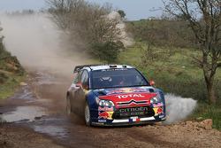 Sébastien Loeb and Daniel Elena, Citroën C4, Citroën Total World Rally Team