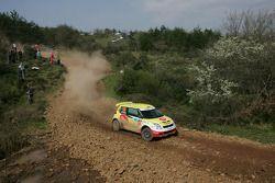 Karl Kruuda et Martin Jarveoja, Suzuki Swift S1600