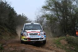 Thierry Neuville et Nicolas Klinger, Citroen C2 S1600