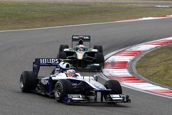 Nico Hulkenberg, Williams F1 Team, Jarno Trulli, Lotus F1 Team