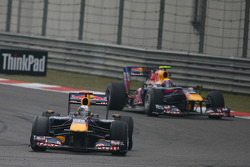Sebastian Vettel, Red Bull Racing et Mark Webber, Red Bull Racing