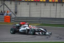 Льюис Хэмилтон, McLaren Mercedes и Михаэль Шумахер, Mercedes GP
