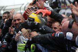 Third place Nico Rosberg, Mercedes GP