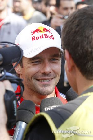 Rally winner Sébastien Loeb