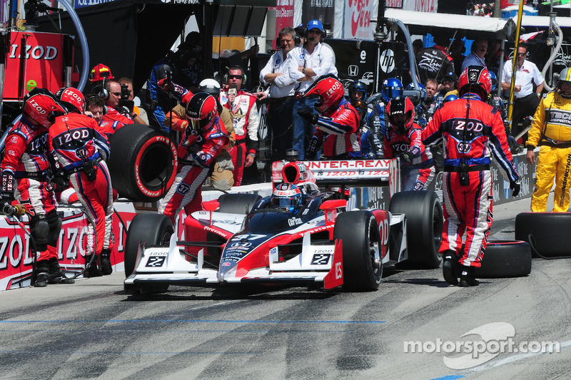 Ryan Hunter-Reay, Andretti Autosport pitstop