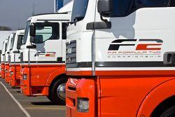 F2 Logo on the trucks
