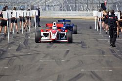 Johan Jokinen op de F2-startopstelling
