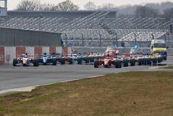 Phillipp Eng on pole position