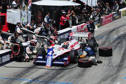Dan Wheldon, Panther Racing makes pitstop