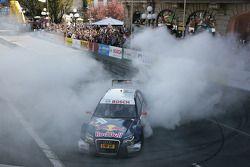 Mattias Ekström, Audi Sport Team Abt Audi A4 DTM ist making doughnuts