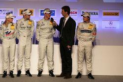 Ralf Schumacher, Team HWA AMG Mercedes C-Klasse gives a interview