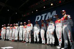2010 DTM drivers group shot