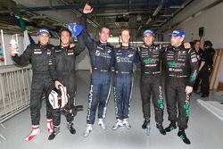 Kwalificatierace, winnaars Marc Hennerici en Andreas Zuber, met 2de Thomas Mutsch en Romain Grosjean