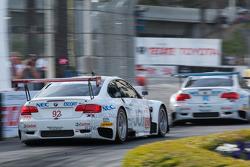 #90 BMW Rahal Letterman Racing Team BMW M3 GT: Dirk Muller, Joey Het ,#92 BMW Rahal Letterman Racing
