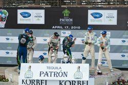 LMP podium: champagne celebration