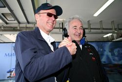 Peugeot Sport director Olivier Quesnel et Hugues de Chaunac