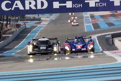 #008 Signature Plus Lola Aston Martin: Pierre Ragues, Franck Mailleux, Vanina Ickx, #5 Beechdean Mansell Ginetta-Zytek 09S: Nigel Mansell, Leo Mansell, Greg Mansell