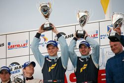 LMGT2 podium: class winners Marc Lieb and Richard Lietz