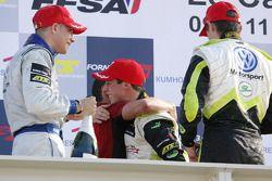 Race winner Alexander Sims
