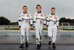 Stéphane Sarrazin, Franck Montagny en Nicolas Minassian
