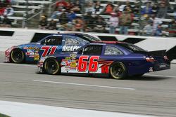 Bobby Labonte, TRG Motorsports Chevrolet, Michael McDowell, Prism Motorsports Toyota