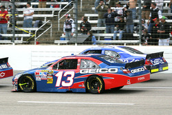 Max Papis, Germain Racing Toyota and Kevin Conway, Front Row Motorsports with Yates Racing Ford