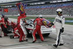 Pit stop for Michael McDowell