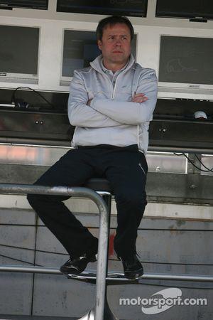 Gerhard Ungar, hoofdtechneut HWA Mercedes
