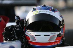 Helm en handschoenen Marco Wittmann, Signature, Dallara F308 Volkswagen