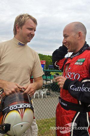 Ryan Dalziel en Jon Fogarty