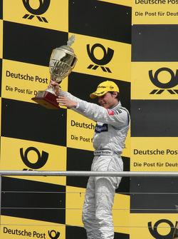Podium: 2e Bruno Spengler, Team HWA AMG Mercedes C-Klasse