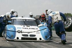 Passage aux stands pour #01 Chip Ganassi Racing avec Felix Sabates BMW Riley: Scott Pruett, Memo Rojas
