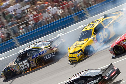 Johnny Sauter, Tommy Baldwin Racing Chevrolet accident