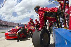 Parada en pits para Jamie McMurray, Earnhardt Ganassi Racing Chevrolet