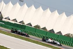 #02 BVM Dallara F308 FPT 420: Kevin Giovesi #21 RP Motorsport Dallara F310 FPT 420: Jessi Krohn