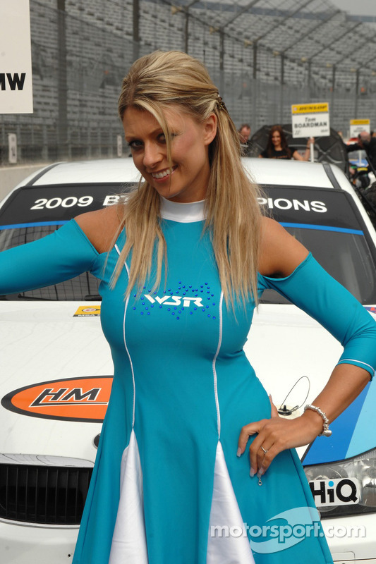 Rob Collard's gridgirl