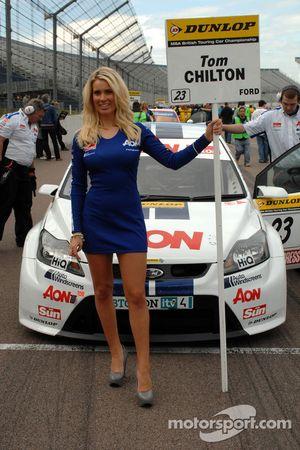 Tom Chilton's gridgirl