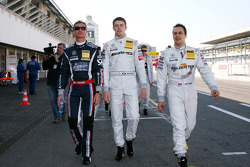 David Coulthard, Mücke Motorsport, Paul di Resta, Team HWA AMG Mercedes et Gary Paffett, Team HWA AM